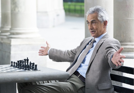 David Strathairn in the role of God.