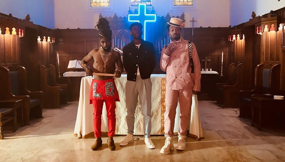 Samm Henshaw, Doctur Dot, and Johnny Venus sing about Church