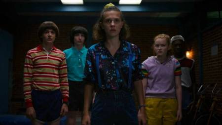 Stranger Things 3 tells the story of kids saving their towns from monsters.