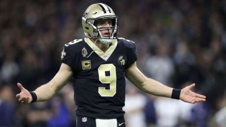Drew Brees can't understand why he's being criticized for telling kids to bring their Bibles to school.